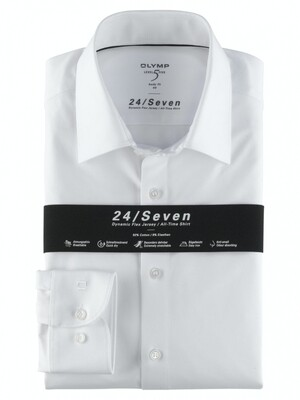 Olymp Overhemd 24/7 Level 5 200864L5 wit