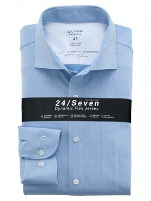 Olymp Overhemd 24/7 Level 5 202484 licht blauw