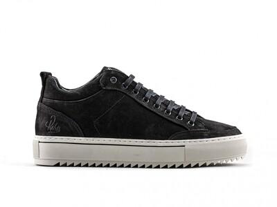 Rehab Casual Sneaker Craig Nub 2142 653202 zwart