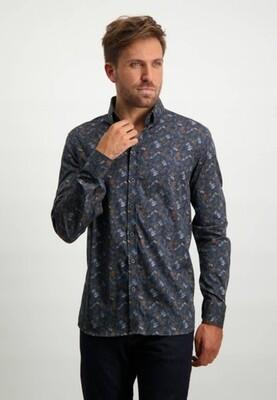State of Art Overhemd 21421153 donkerblauw