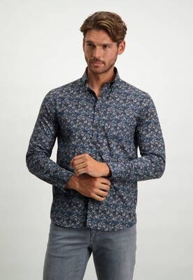 State of Art Overhemd 21421159 donkerblauw