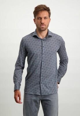 State of Art Overhemd 21421181 zilvergrijs