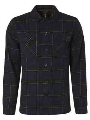 No Excess Overshirt 12410912 donker blauw