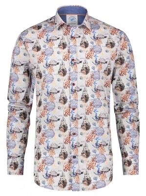 A Fish Named Fred Shirt 23.02.004 off white