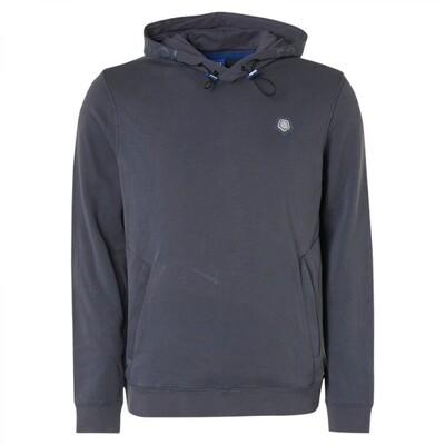 Qubz Sweater Clean Hood Q03100805 blauw