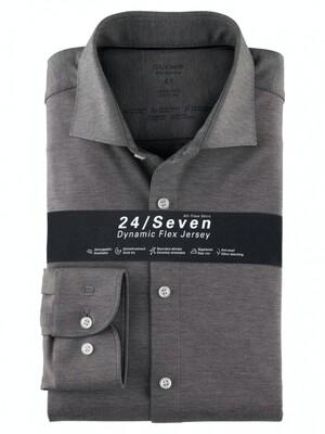 Olymp Overhemd 24/7 Level 5 200684 antraciet