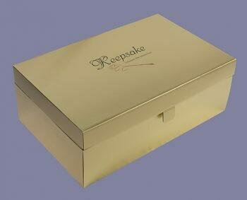 Gold Wedding Dress Preservation Box (Large)