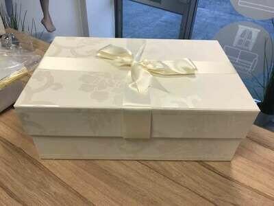 Hand Made Wedding Dress Box