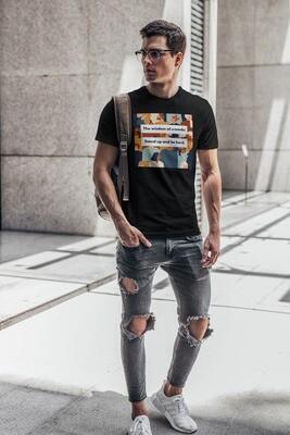 Be Herd Men's Round Neck T-Shirt