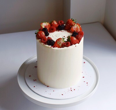 The Summer Fruits Cake