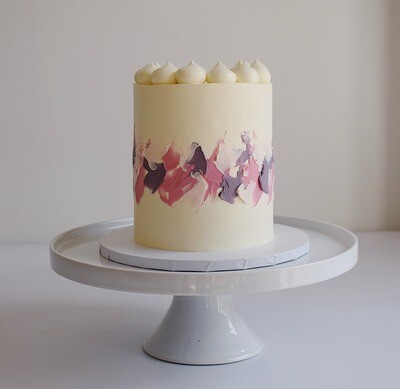 The Painted Band Cake