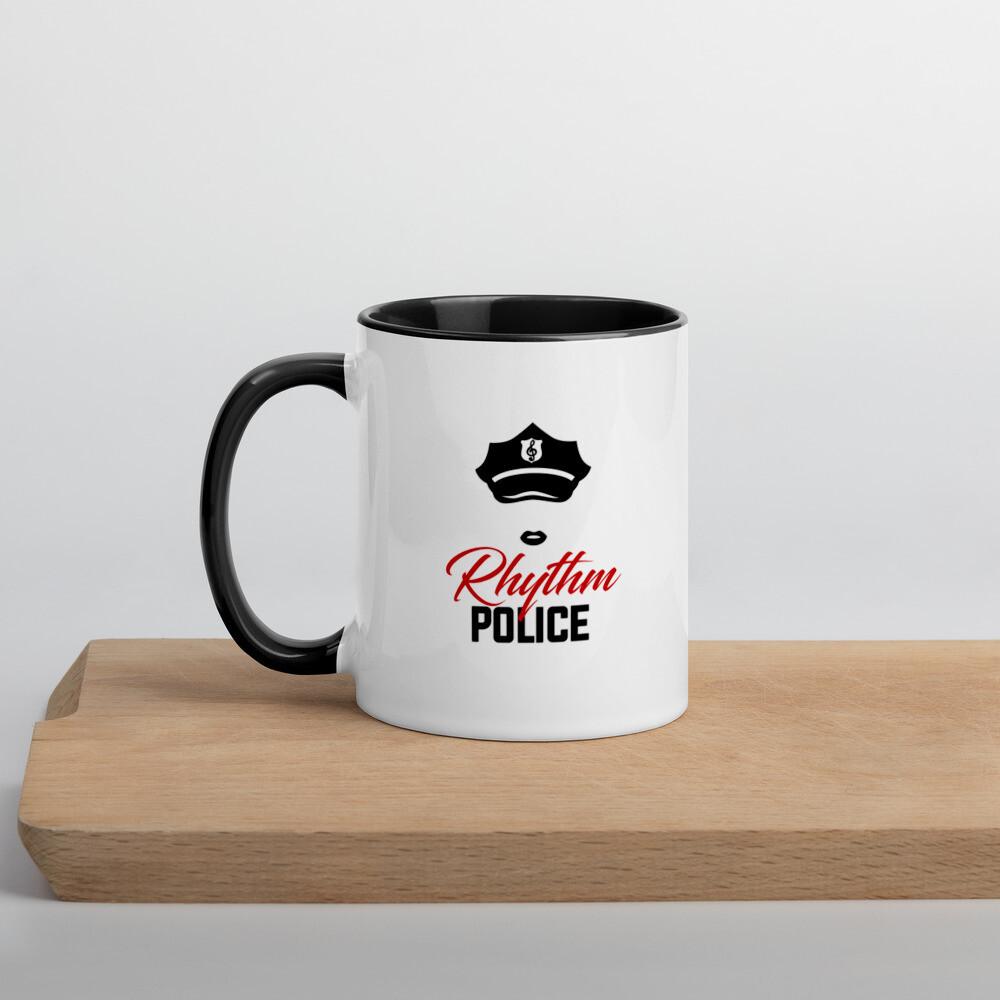 Rhythm Police Mug with Color Inside (Female)