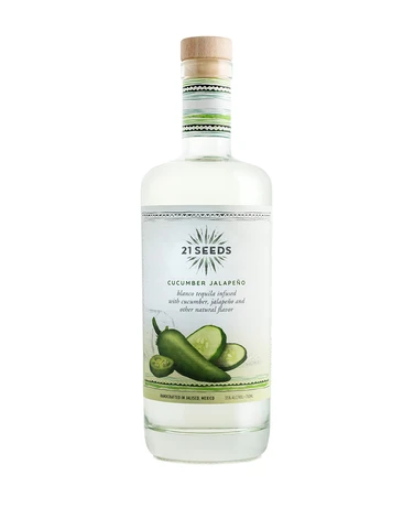 21 Seeds Cucumber Jalapeno   750 ML