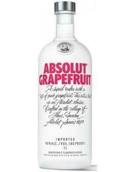 Absolut Grapefruit   375 ML