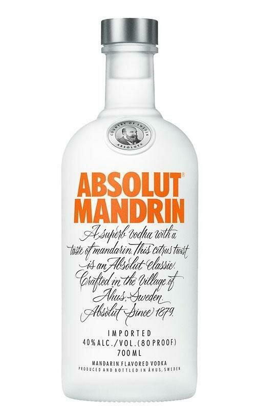 Absolut Mandrin   750 ML