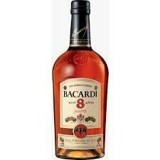 Bacardi 8   750 ML