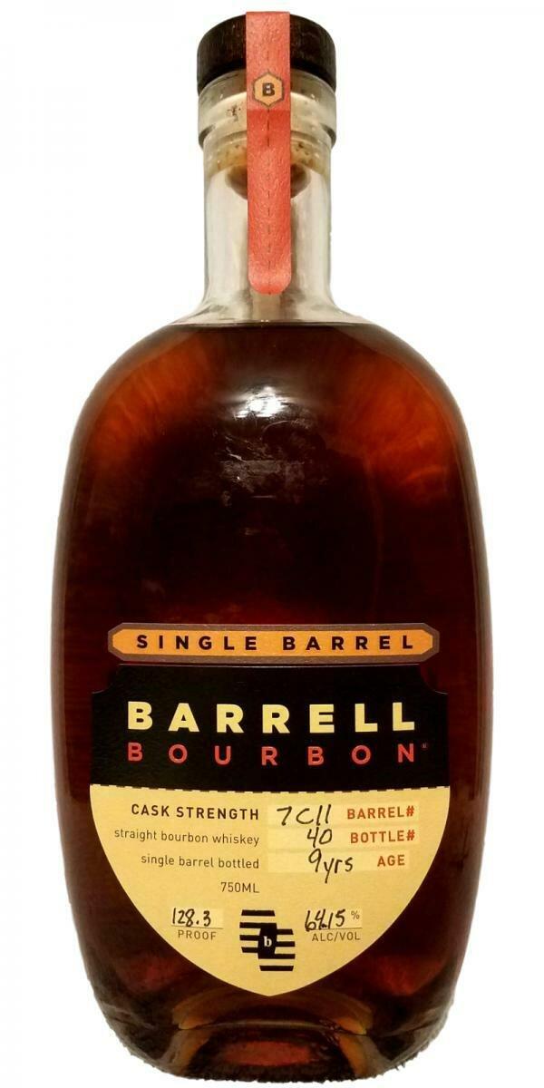 Barrell Bourbon Single Barrel   750 ML