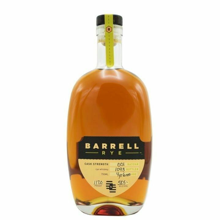 Barrell Rye Whiskey   750 ML