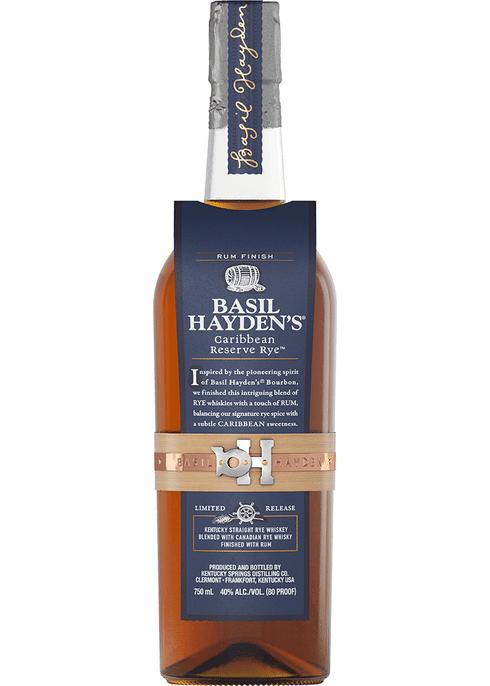 Basil Hayden's Caribbean Reserve Rye   750 ML