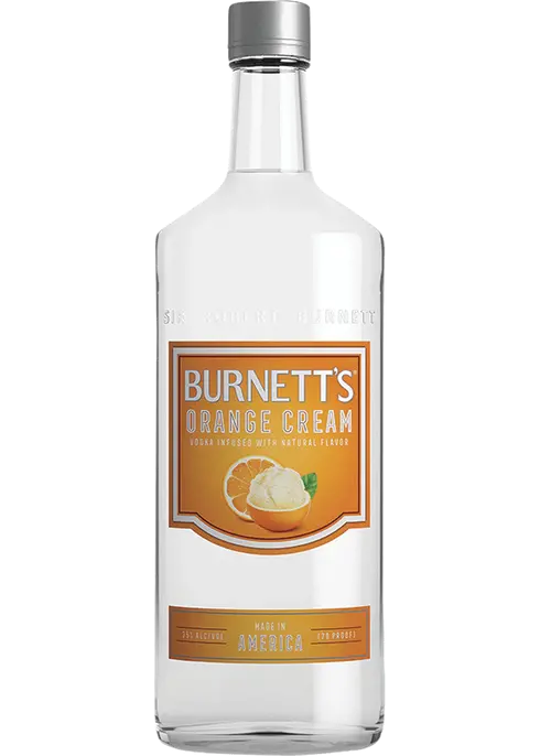Burnett's Orange Cream | 750 ML