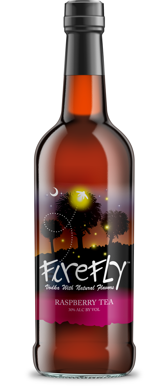 Firefly Raspberry Tea Vodka | 750 ML