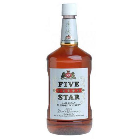 Five Star Whiskey   1.75 L