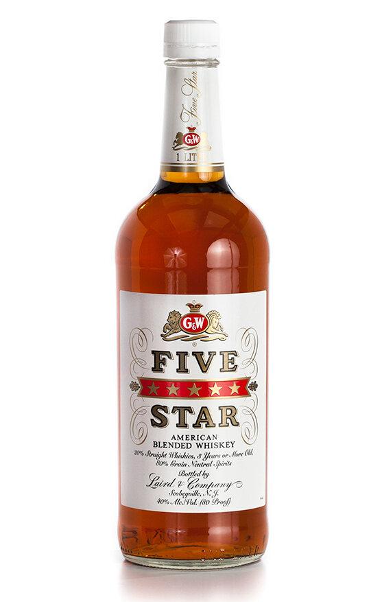 Five Star Whiskey   375 ML