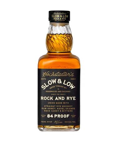 Hochstadter's Slow & Low Rock & Rye   750 ML