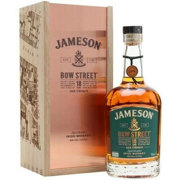 Jameson Bow Street Edition 18 Year   750 ML