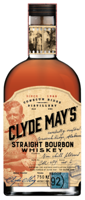 Clyde May's Straight Bourbon   750 ML