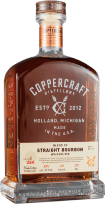 Coppercraft Blend Of Straight Bourbon   750 ML