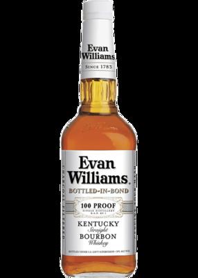 Evan Williams Bottled in Bond White Label   1.75 L