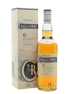 Cragganmore 12 Year Single Malt Scotch | 750 ML