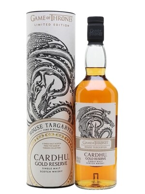 Game Of Thrones House Targaryen Cardhu Gold Reserve | 750 ML