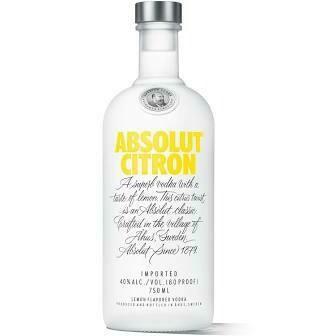 Absolut Citron | 750 ML