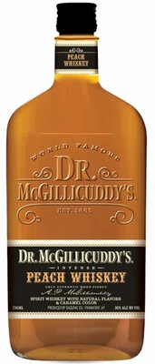 Dr Mcgillicuddy's Peach Whiskey  | 750 ML
