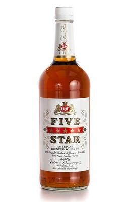 Five Star Whiskey | 750 ML
