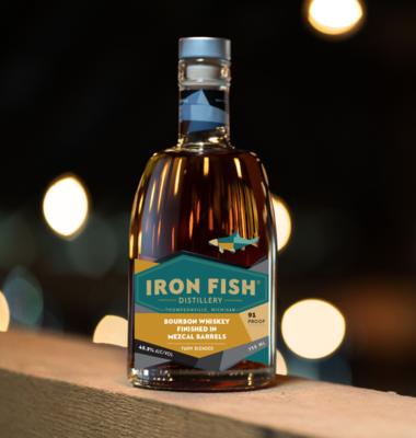 Iron Fish Mezcal Barrel Bourbon | 750 ML