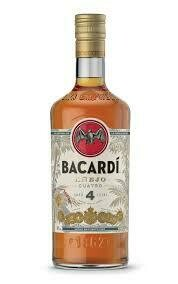 Bacardi Anejo Cuatro | 750 ML