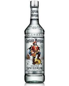 Captain Morgan Silver Spiced Rum   750 ML