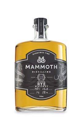 Mammoth Small Batch Rye 12 Year | 750 ML