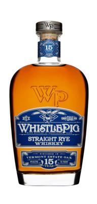 Whistlepig 15 Year Straight Estate Oak Rye Whiskey | 750 ML