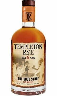 Templeton Rye 6 Year | 750 ML