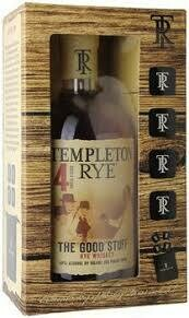 Templeton Rye 4 Year with 4 Stones | 750 ML