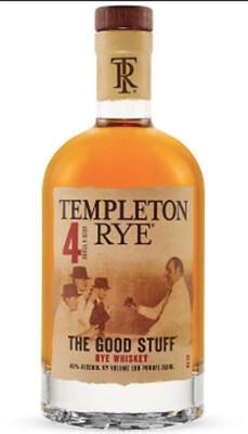 Templeton Rye 4 Year The Good Stuff | 375 ML