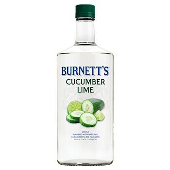 Burnett's Cucumber Lime   750 ML