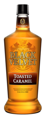 Black Velvet Toasted Caramel   750 ML