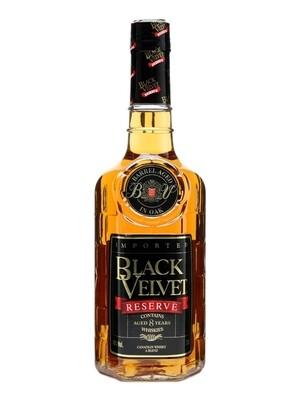 Black Velvet Reserve 8 Year Old Canadian Whisky    750 ML