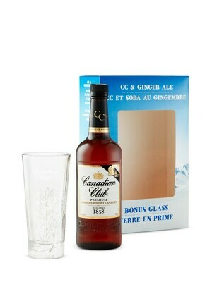 Canadian Club with Glass   750 ML