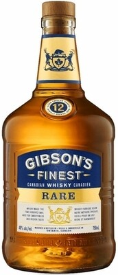 Gibson Finest Gold Canadian Whisky 12 Year    750 ML